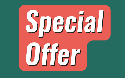 Special offer worth over £100